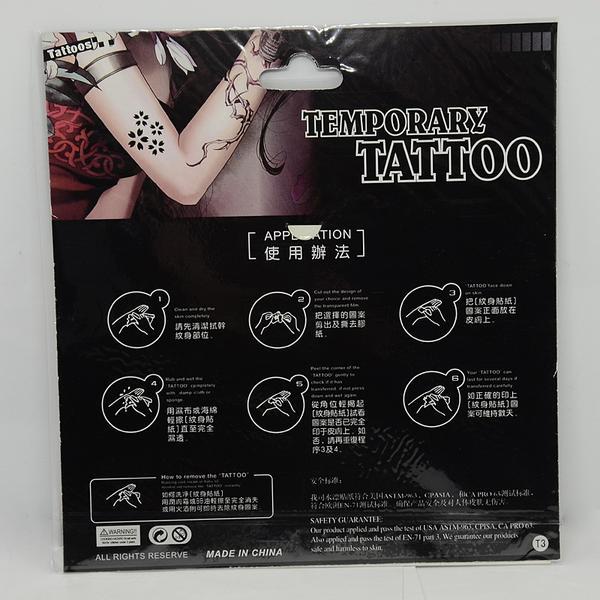 Temporär Tattoo  Sticker med Tribal motiver