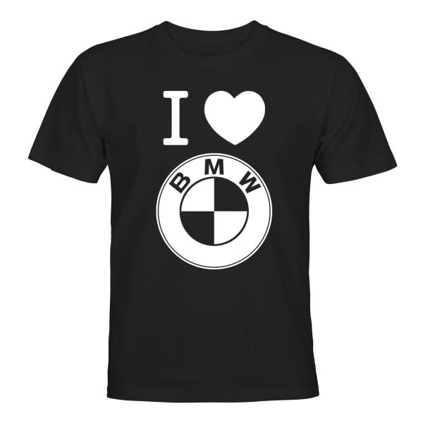 BMW - T-SHIRT - UNISEX Svart - M