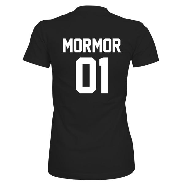 Mormor 01 - T-SHIRT - DAM Svart - M