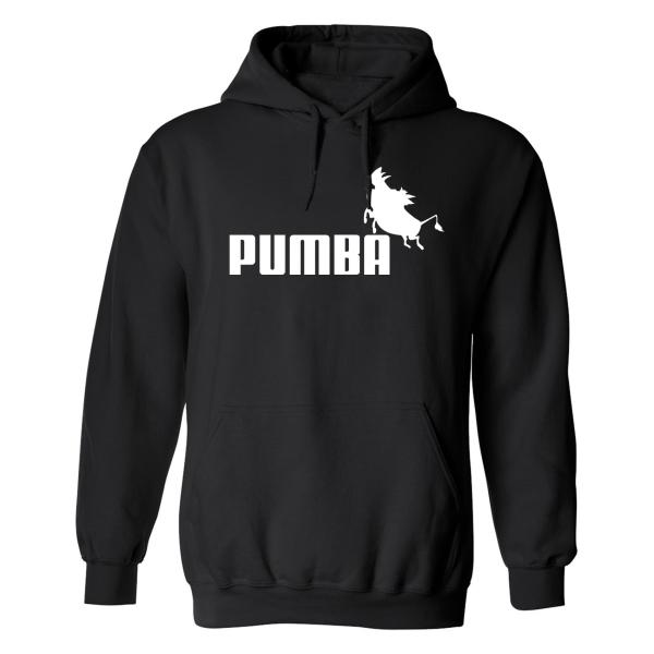 Pumba - Hoodie / Tröja - HERR Svart - 4XL