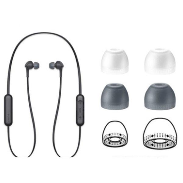Sony WI-C400 C300 XB400 C200 in-ear silikon earmuffs Grå Stor