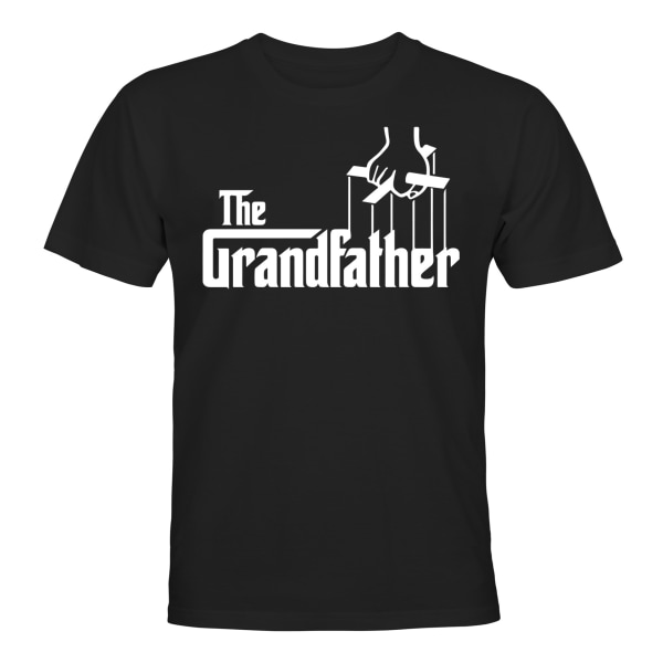 The Grandfather - T-SHIRT - UNISEX Svart - 3XL