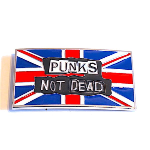 Bältesspänne - Punks not dead