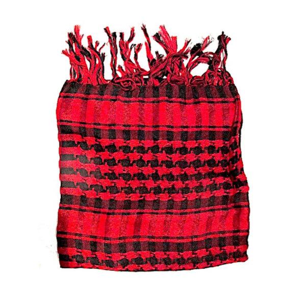 Palestinasjal - Röd och Svart - scarf Röd