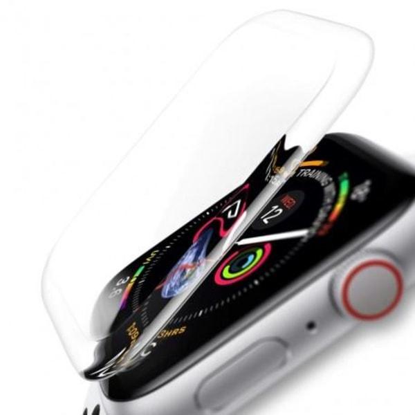 2-PACK Apple Watch SE 40mm 3D Härdat Glas 0.2mm 9H Transparent