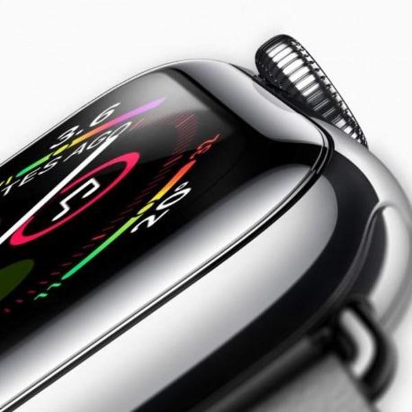 2-PACK Apple Watch SE 44mm 3D Härdat Glas 0.2mm 9H Transparent