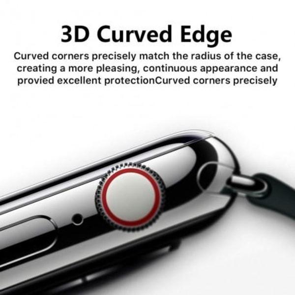 2-PACK Apple Watch Series 6 40mm 3D Härdat Glas 0.2mm 9H Transparent