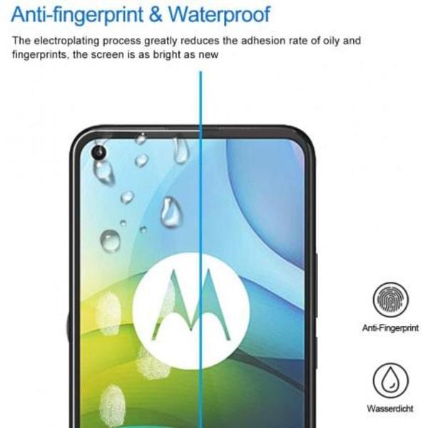 2-PACK Motorola Moto G9 Power FullFrame® 0.26mm 9H Härdat Glas Transparent