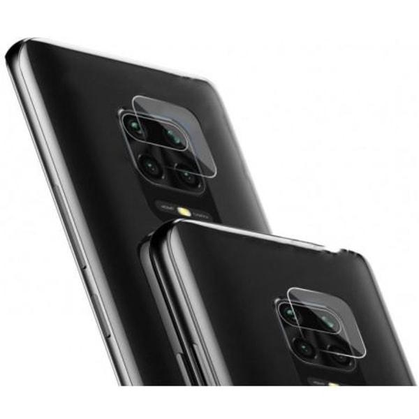 2-PACK Xiaomi Redmi Note 9 Linsskydd Kamera Transparent