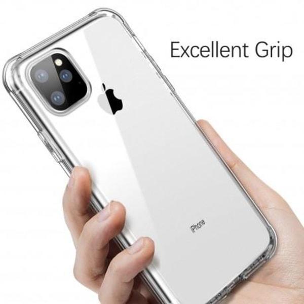 360° Heltäckande Silikonfodral iPhone 11 Pro Transparent