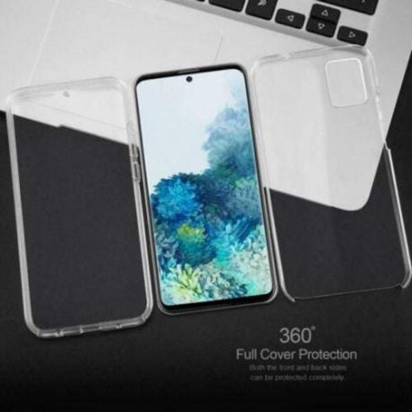 360° Heltäckande Silikonfodral Samsung S20 Transparent