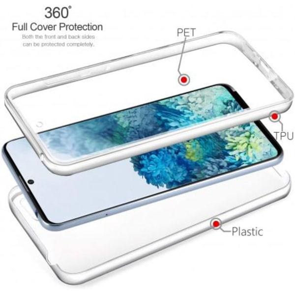 360° Heltäckande & Stötdämpande Skal Samsung S21 Transparent