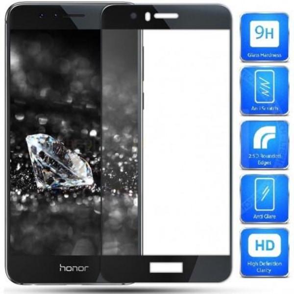 Honor 9 FullFrame® 0.26mm 2.5D 9H Härdat Glas Transparent