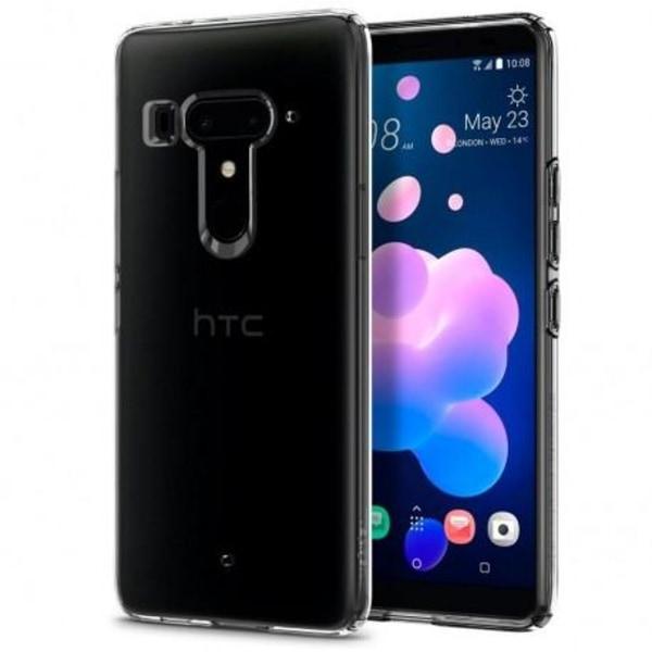 HTC U12 Plus Stötdämpande Silikon Skal Simple® Transparent