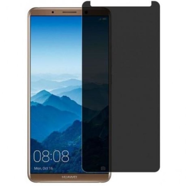 Huawei Mate 10 Lite Privacy Härdat glas 0.26mm 2.5D 9H Transparent