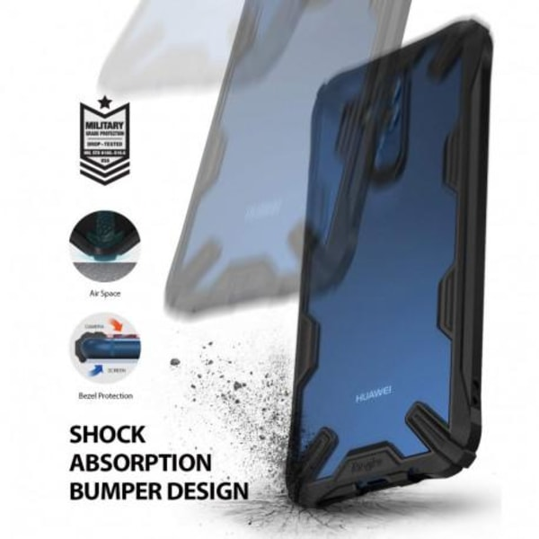 Huawei Mate 20 Lite Stöttåligt Skal Fusion® Transparent