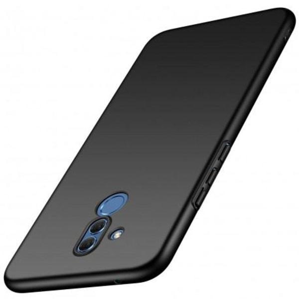 Huawei Mate 20 Lite Ultratunn Gummibelagd Mattsvart Skal Basic®  Svart