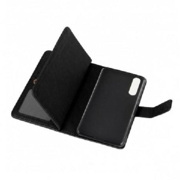 Huawei P20 Pro Praktisk Plånboksfodral med 11-Fack Array® Svart
