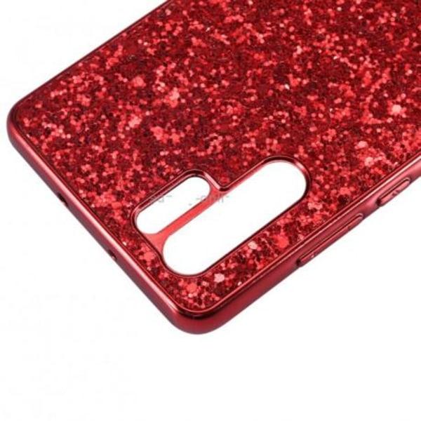 Huawei P30 Pro Glittrigt Premium Skal V2 Guld