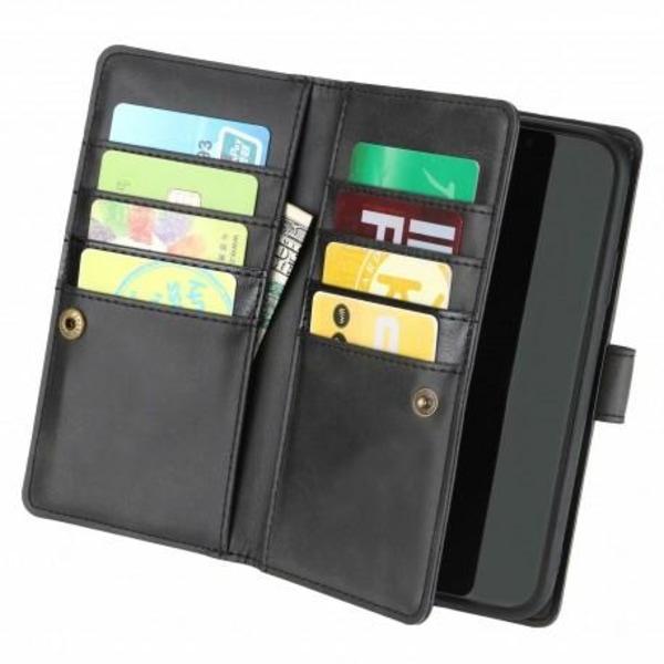 iPhone 11 Pro Max Plånboksfodral 10-Fack Array® V3 Svart