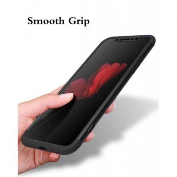 iPhone 12 Mini 360° 3in1 FullCover Skal inkl. Härdat Glas Transparent