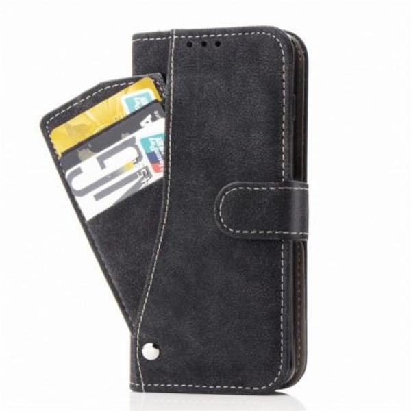 iPhone 12 Mini Praktisk Plånboksfodral med 7-FACK Pharah® Svart