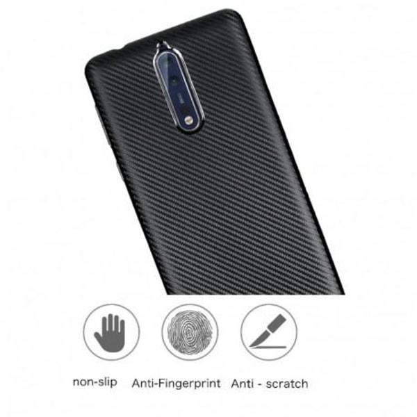 Nokia 8 Stöttåligt Skal FullCarbon® V2 Svart