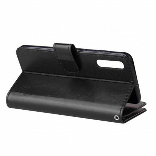 Samsung A40 Praktisk Plånboksfodral med 10-Fack Array® Svart
