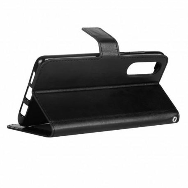 Samsung A50 Plånboksfodral PU-Läder 4-FACK (SM-A505FN) Black