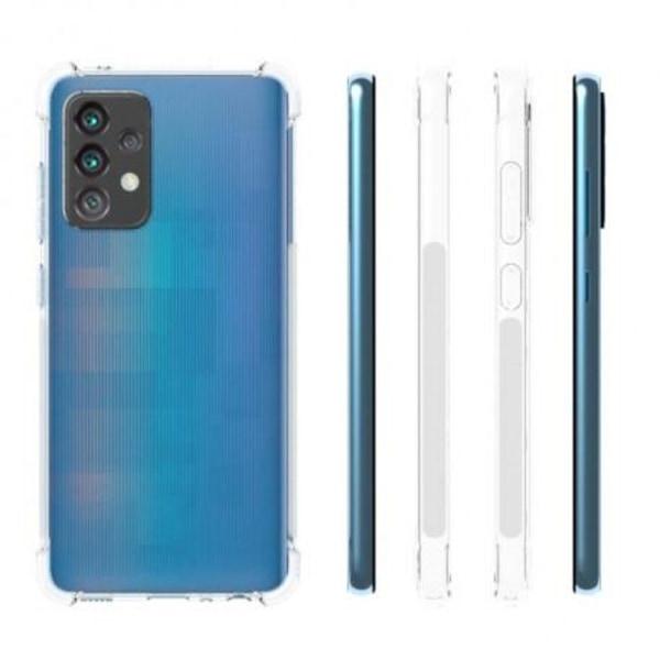Samsung A52 5G Stötdämpande Silikon Skal Shockr® Transparent