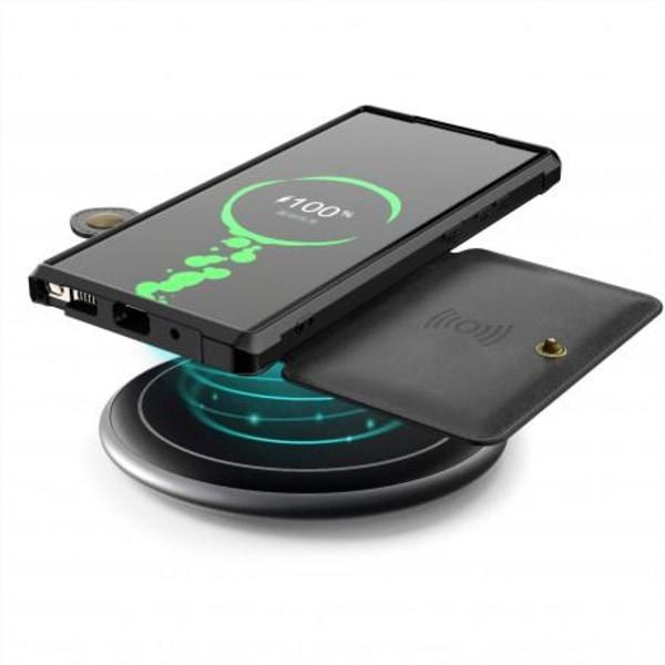 Samsung Galaxy Note 20 Stöttåligt Premium Skal 4-FACK Solid® V3 Svart