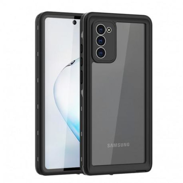 Samsung Note 20 Heltäckande Vattentät Premium Skal - 2m Transparent