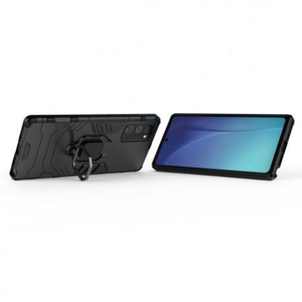 Samsung Note 20 Stöttåligt Skal med Ringhållare ThinArmor® Svart