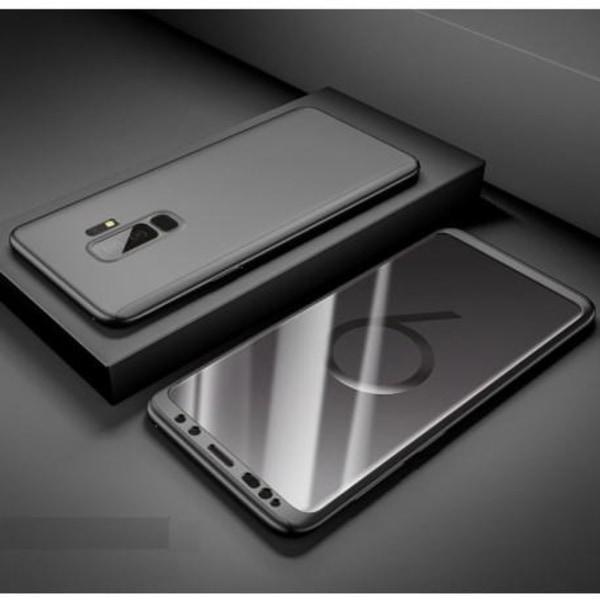 Samsung Note 9 360° 3in1 FullCover Skal inkl. Skärmskydd Svart