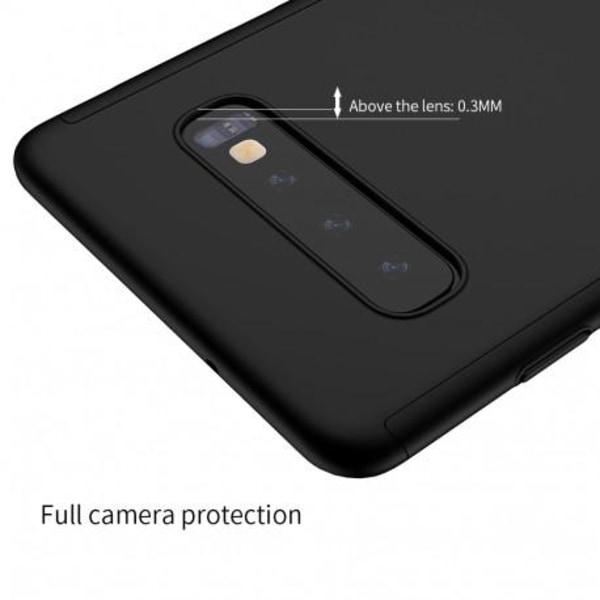 Samsung S10 Plus | 360° 3in1 FullCover Skal inkl. Skärmskydd Svart