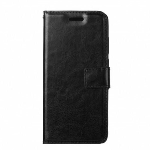 Sony Xperia L4 Plånboksfodral PU-Läder 4-FACK Svart