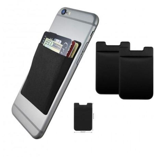 Universal Korthållare Smartphone Svart