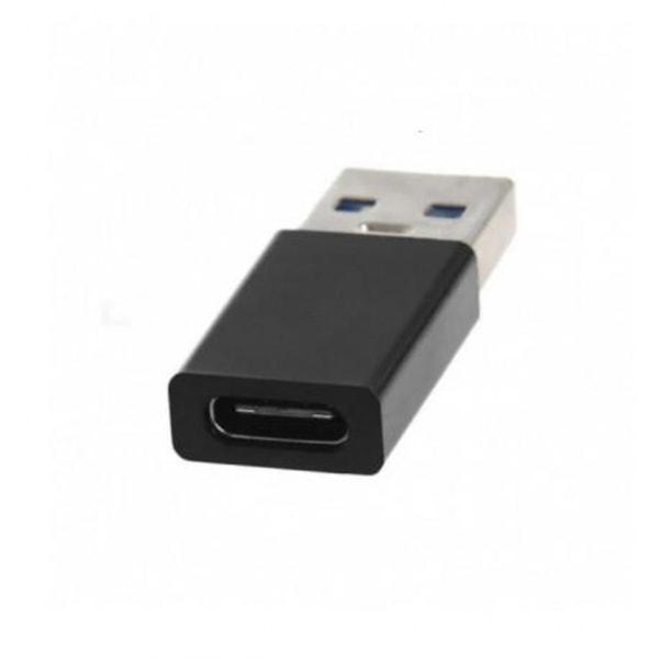 USB-C till USB-A Adapter USB 3.0 Svart