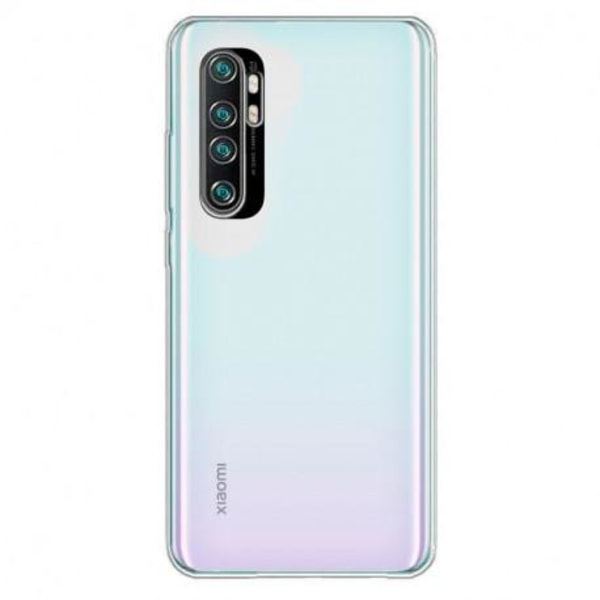 Xiaomi Mi Note 10 Lite Kamera Skydd Linskydd Flexibelt Glas Svart