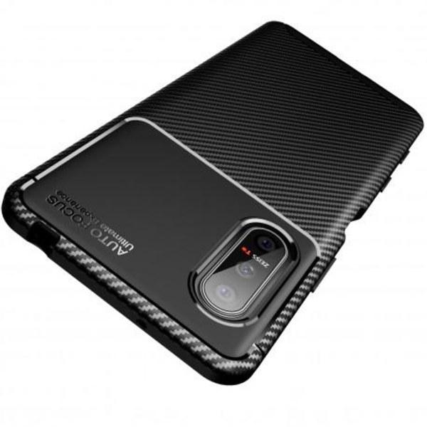 Xperia 5 II Stöttåligt Slimmat Skal FullCarbon® V4 Svart