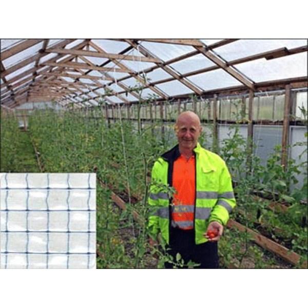 Filnet, växthusplast, 10 meter X 1,8 meter