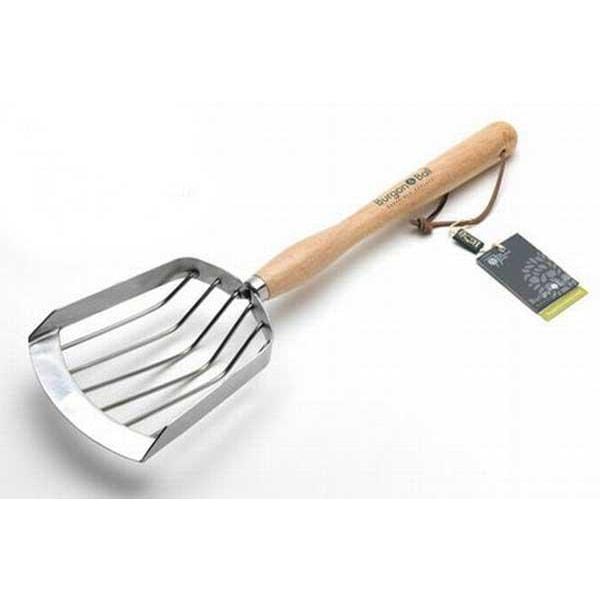 Potatisskopa, lång Metall utseende