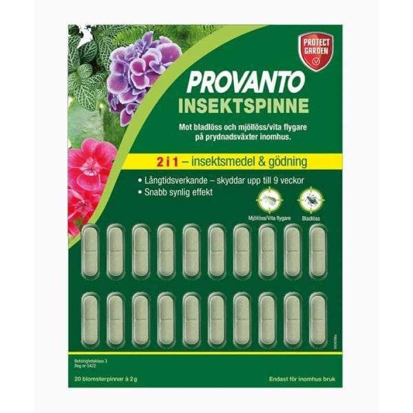 Provanto® Insektspinnar 20st grå