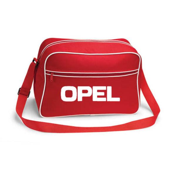 Opel retroväska, 3 färger Svart