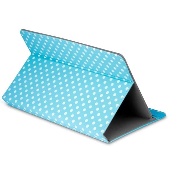 Business Tablet-fodral för Universal 8 Zoll Hård-Plast Ställfunk Blå