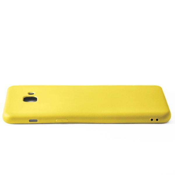 Enfärgat Mjukt Skal för Samsung Galaxy S8 Plus Silikon Lätt Ultr LemonYellow