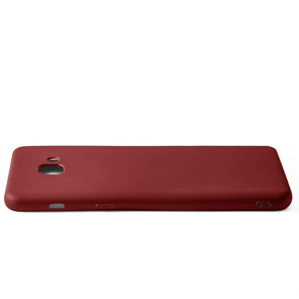 Enfärgat Mjukt Skal för Samsung Galaxy S8 Plus Silikon Lätt Ultr Vin, röd