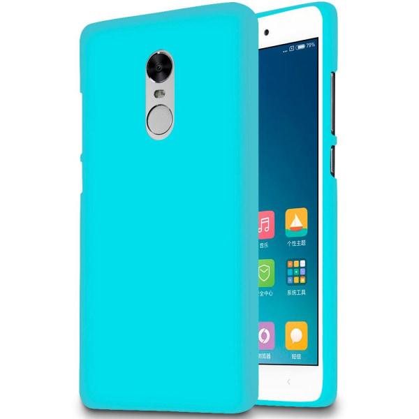 Enfärgat Mjukt Skal för Xiaomi Redmi 4x Lätt Gummi Mobilskydd St Turkos