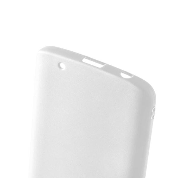 Matt Mjukt Skal för Motorola Moto G6 Plus Mobilskydd Silikon Tun Vit