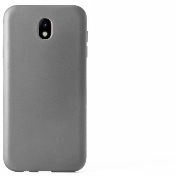 Matt Mjukt Skal för Samsung Galaxy J3 (2017) J330 Tunnt TPU Enfä grå